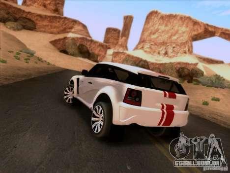 Bowler EXR S 2012 para GTA San Andreas esquerda vista