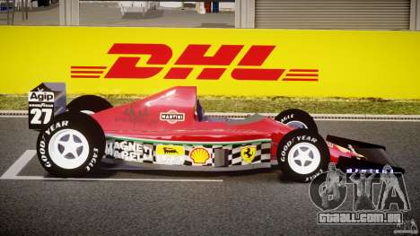 Ferrari Formula 1 para GTA 4 vista interior