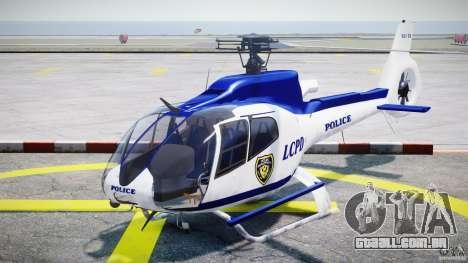 Eurocopter EC 130 LCPD para GTA 4