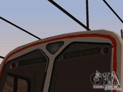 ed4mk 0073 para GTA San Andreas vista traseira
