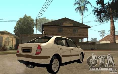 Citroen C5 HDI para GTA San Andreas