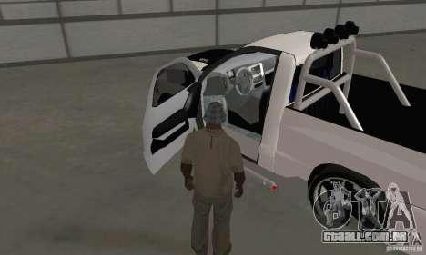 Dodge Ram SRT-10 Tuning para GTA San Andreas vista traseira
