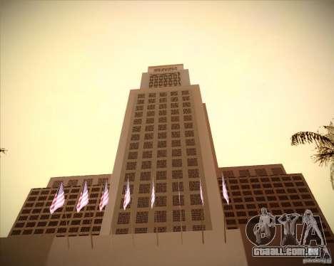 Novas texturas da prefeitura para GTA San Andreas terceira tela