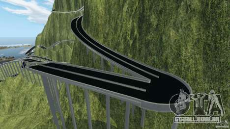 MG Downhill Map V1.0 [Beta] para GTA 4 quinto tela