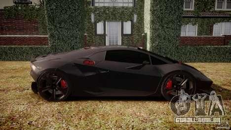 Lamborghini Sesto Elemento 2011 para GTA 4 esquerda vista