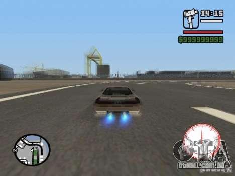 Velocímetro DepositFiles para GTA San Andreas terceira tela