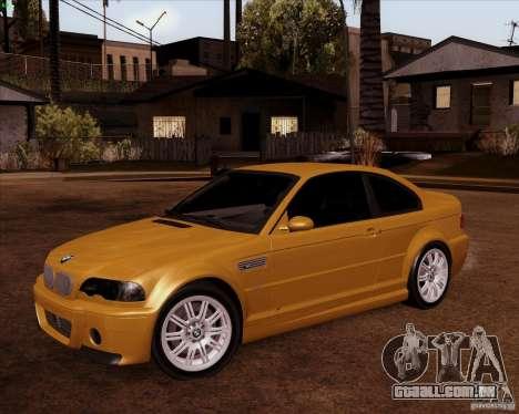 BMW M3 E46 stock para GTA San Andreas