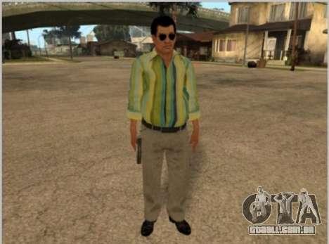 Peles La Cosa Nostra para GTA San Andreas terceira tela