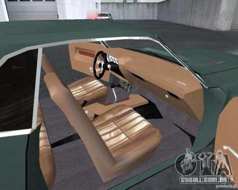 Dodge Challenger V1.0 para GTA San Andreas esquerda vista