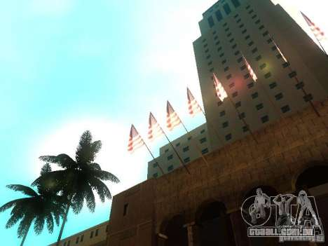 City Hall Los Angeles para GTA San Andreas quinto tela