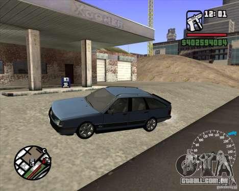 Audi 100 Avant para GTA San Andreas esquerda vista
