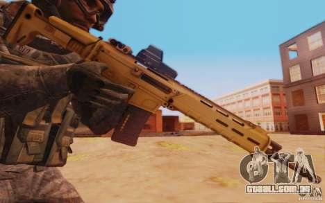 ACR com uma visão holográfica para GTA San Andreas terceira tela