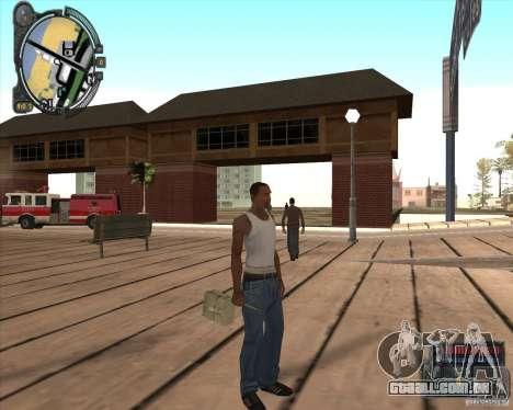 S.T.A.L.K.E.R. Call of Pripyat HUD for SA v1.0 para GTA San Andreas por diante tela