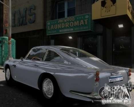 Aston Martin DB5 Vantage BETA para GTA 4 esquerda vista