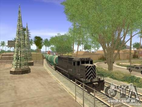 N. º 517 94592 do tanque para GTA San Andreas vista traseira