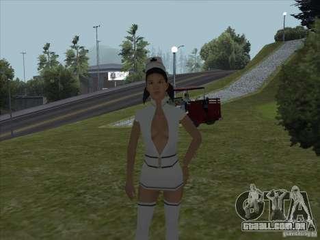 MOD namoradas nuas para GTA San Andreas