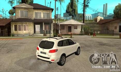 Hyundai Santa Fe para GTA San Andreas vista direita