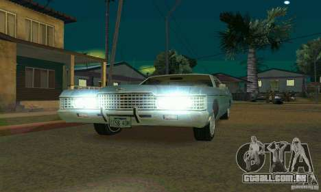 Mercury Monterey 1972 para GTA San Andreas