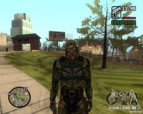 Agrupando os tormentos da liberdade para GTA San Andreas