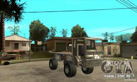 Fast Five Sand King para GTA San Andreas vista traseira