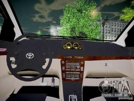 Toyota Vitz para GTA 4 vista de volta
