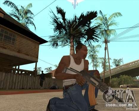 AK74U para GTA San Andreas