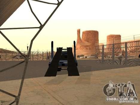 Caminhão KAMAZ para GTA San Andreas esquerda vista