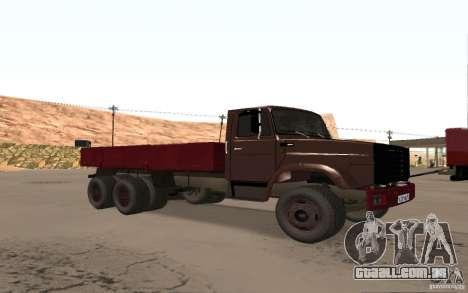 ZIL 6309 para GTA San Andreas esquerda vista