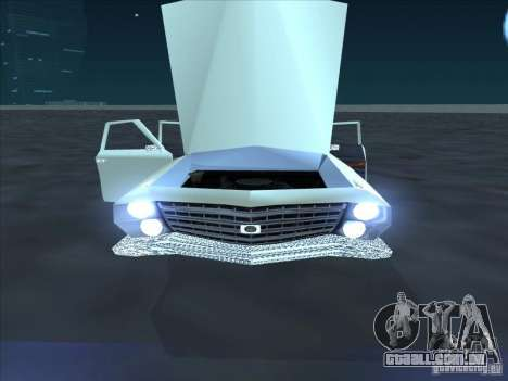Cadillac Stella para GTA San Andreas traseira esquerda vista