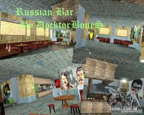 Bar inglês em Gantone no estilo da URSS para GTA San Andreas