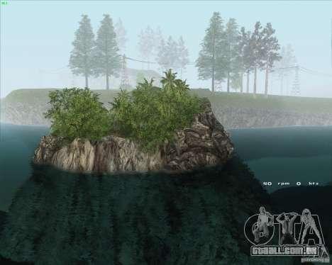 Project Oblivion 2010HQ para GTA San Andreas segunda tela