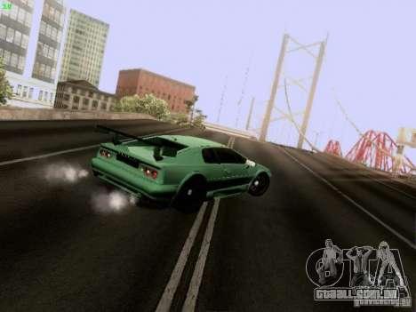 Lotus Esprit V8 para GTA San Andreas vista interior