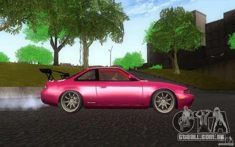 Nissan Silvia S14 Zenkitron para GTA San Andreas vista interior