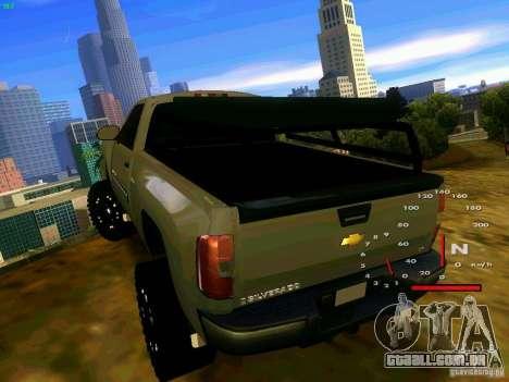Chevrolet Silverado Final para GTA San Andreas traseira esquerda vista