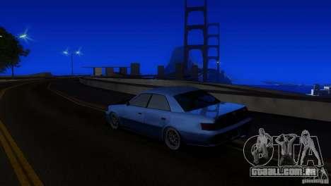 Toyota Mark II 100 para GTA San Andreas vista traseira