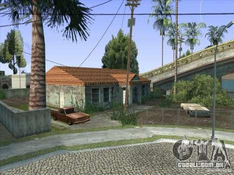 Grove Street Retextured para GTA San Andreas nono tela