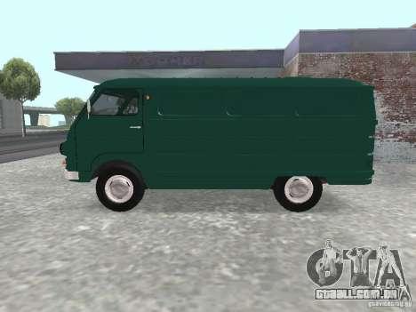 YERAZ 762 para GTA San Andreas esquerda vista