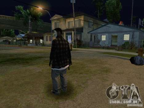 O novo Anonymus Grove para GTA San Andreas terceira tela