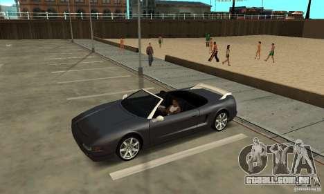 New InFernus para GTA San Andreas vista traseira