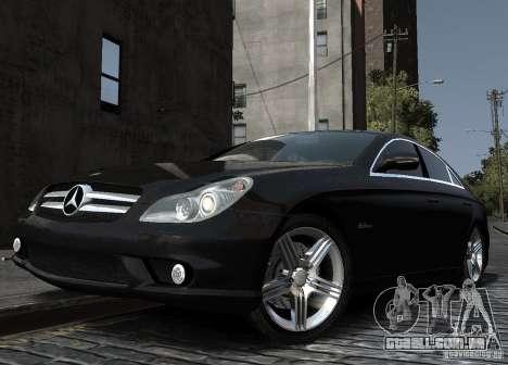 Mercedes-Benz CLS 63 AMG para GTA 4 vista direita