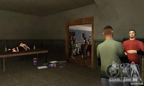 Projeto x na construção de CJ para GTA San Andreas segunda tela