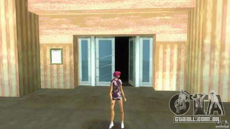 Girl Player mit 11skins para GTA Vice City