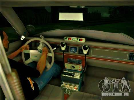 Ford Crown Victoria LTD 1991 HILL-VALLEY Police para GTA San Andreas vista direita