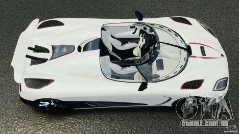Koenigsegg Agera R v2.0 [EPM] para GTA 4 vista direita
