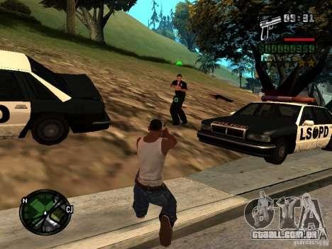 HUD e fonte v 1.0 para GTA San Andreas