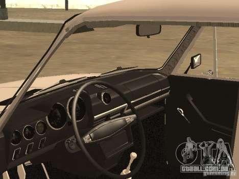 VAZ 21063 para GTA San Andreas vista traseira