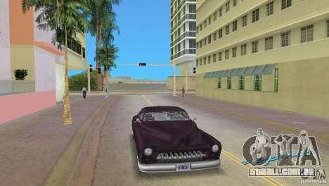 Hermes HD para GTA Vice City vista traseira esquerda