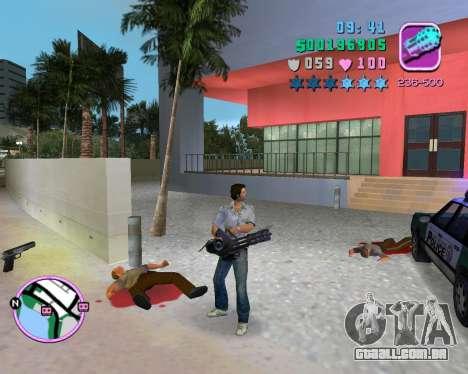Camisa cinza para GTA Vice City sexta tela