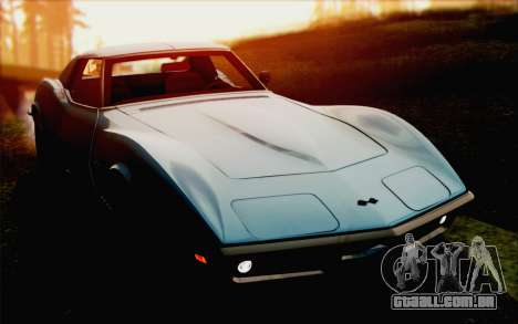 Chevrolet Corvette C3 Stingray T-Top 1969 para GTA San Andreas