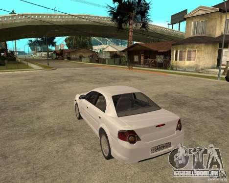 GAZ Volga Siber AT 2,5 para GTA San Andreas esquerda vista